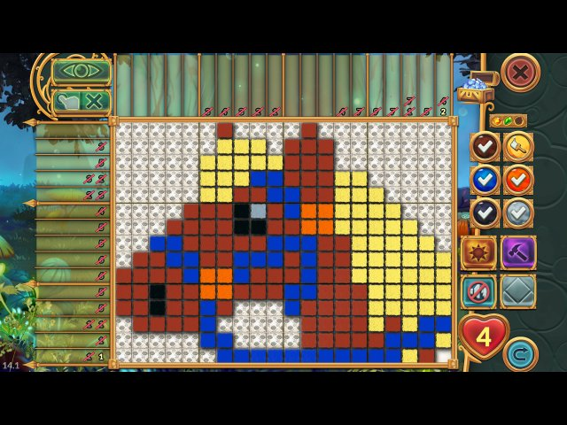 Скриншот из игры  «Legendary Mosaics: the Dwarf and the Terrible Cat» № 5