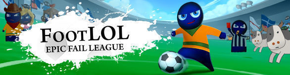 Игра Foot LOL Epic Fail League