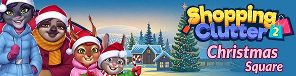 Игра Shopping Clutter 2 Christmas Square